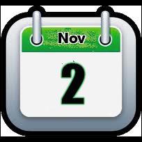 November 2 | Announcements