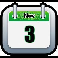 November 3 | Announcements