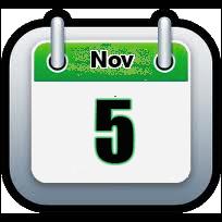 November 5 | Announcements