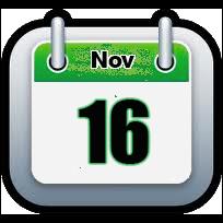 November 16 | Announcements