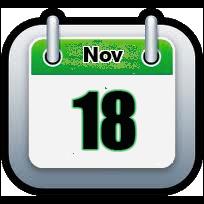 November 18 | Announcements