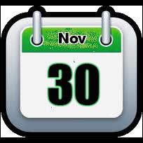 November 30 | Announcements