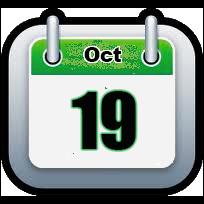 October 19 | Announcments