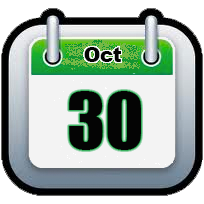 October 30   Announcements