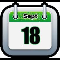 September 18 | Announcements