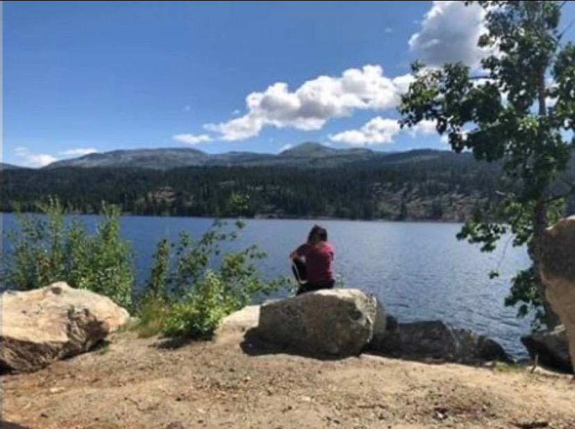 Madison Belfiore is in McCall, Idaho
