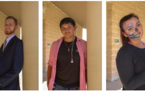 2019 Sunlake graduates, Ellis Byrd, Elijah Santos, and Sarah Tyson