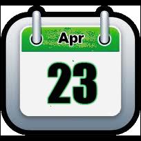 April 23 | Announcements