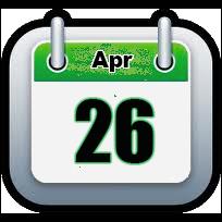 April 26 | Announcements